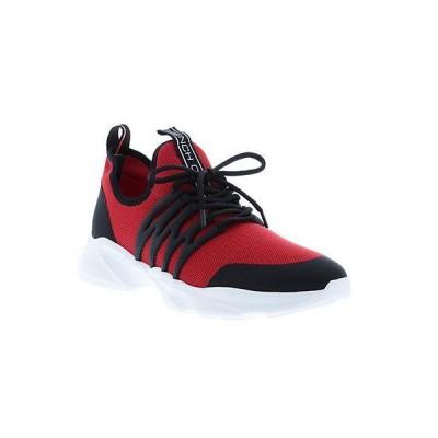 メンズ シューズ  French Connection Damien Leather-Trim Sneaker