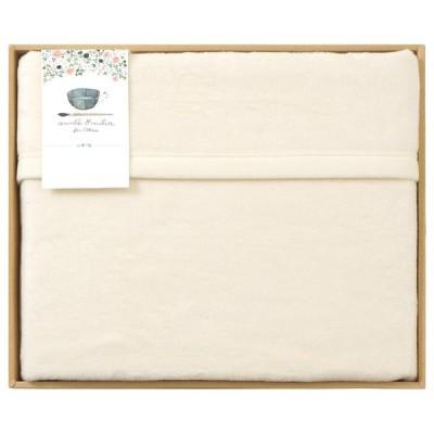 【新品/取寄品】【特選商品】アンナエミリア シルク混綿毛布(毛羽部分) 0261521H
