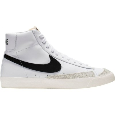 ナイキ Nike メンズ スニーカー シューズ・靴 Blazer Mid '77 Vintage Shoes White/Black/Black