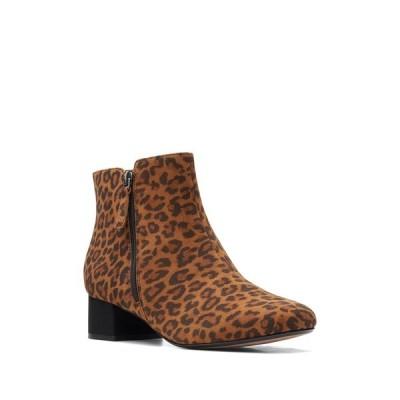 クラークス レディース ブーツ&レインブーツ シューズ Marilyn Leopard Boot LEOPARD PR