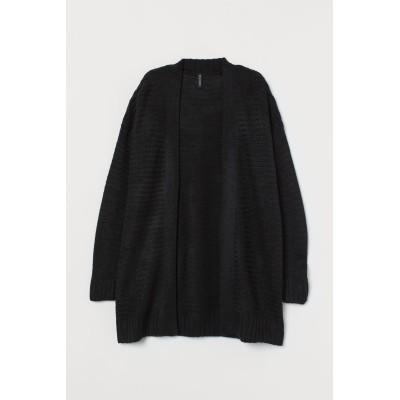 H&M - ニットカーディガン - ブラック