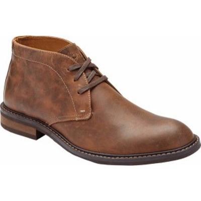 バイオニック メンズ ブーツ・レインブーツ シューズ Men's Vionic Chase Chukka Boot Brown Leather