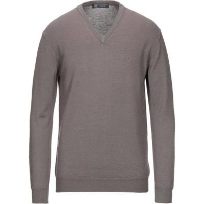アイビーオックスフォード IVY OXFORD メンズ ニット・セーター トップス Sweater Khaki