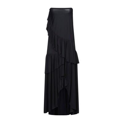 CHIARA BONI LA PETITE ROBE ロングワンピース&ドレス ブラック 38 ナイロン 72% / ポリウレタン 28% ロングワ