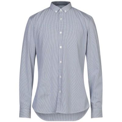LIU •JO MAN シャツ ダークブルー 42 コットン 100% シャツ