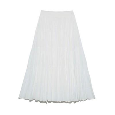 SNIDEL / シアーボリュームティアードスカート WOMEN スカート > スカート