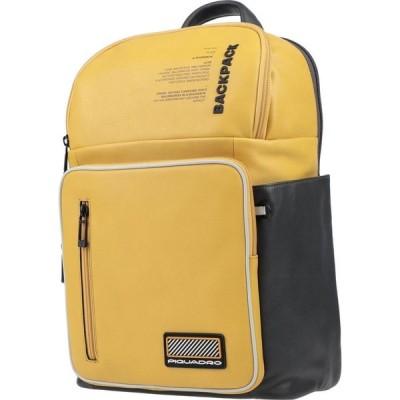 ピクアドロ PIQUADRO メンズ ボディバッグ・ウエストポーチ バッグ backpack & fanny pack Yellow