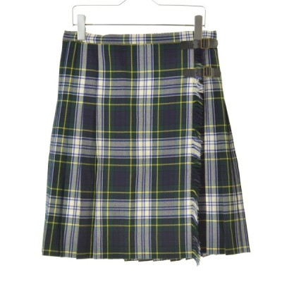 JOURNAL STANDARD / ジャーナルスタンダード チェック柄ウールプリーツ巻き スカート