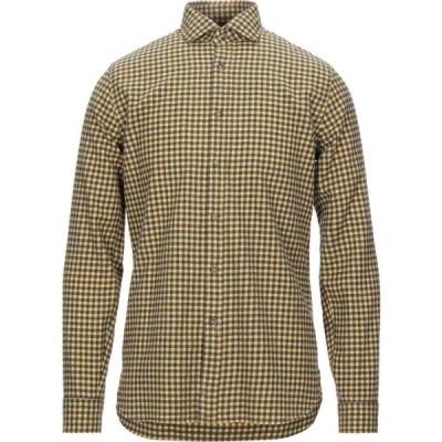 ザカス XACUS メンズ シャツ トップス Checked Shirt Yellow