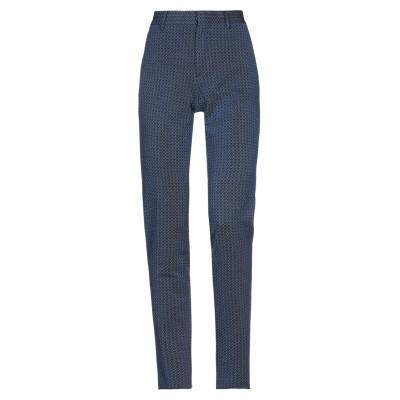 SAULINA Milano パンツ ブルー 42 ナイロン 91% / 金属繊維 9% パンツ