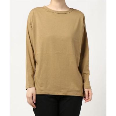 tシャツ Tシャツ ラウントヘムカットプルオーバー〇