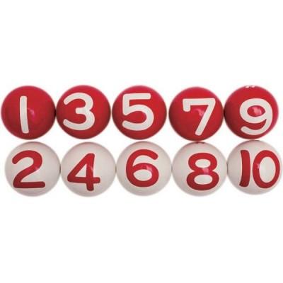 サンラッキー ゲートボール 公認ボール(10個セット) SG-916 <2021CON>