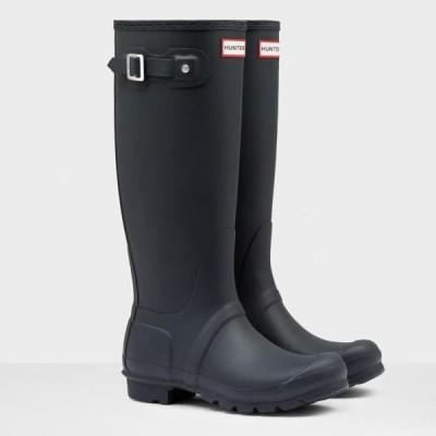 WFT1000RMA-NVY WOMENS ORG TALL NAVY ハンター レディース 長靴 レインシューズ (HUN)(QCB02)