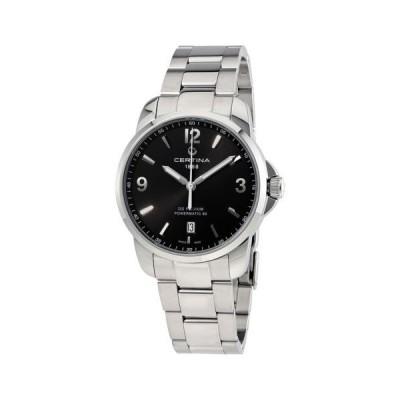 腕時計 サーチナ Certina DS Podium オートマチック ブラック ダイヤル メンズ 腕時計 C0344071105700