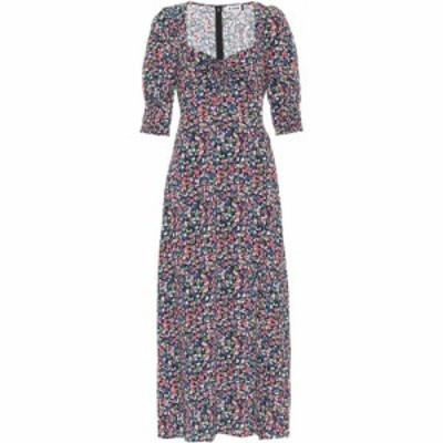 リキソ Rixo レディース ワンピース ミドル丈 ワンピース・ドレス Naomi printed georgette midi dress Smudge Print