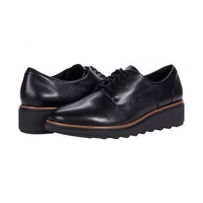 Clarks クラークス レディース 女性用 シューズ 靴 オックスフォード ビジネスシューズ 通勤靴 Sharon Noel - Black Leather/Dark Tan Welt