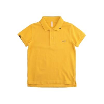 サンシックスティエイト SUN 68 ポロシャツ オークル 4 コットン 100% ポロシャツ