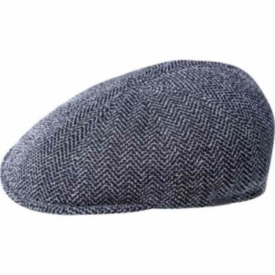 カンゴール Kangol メンズ 帽子 Pattern Flexfit Newsboy Cap Marled Navy