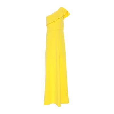 ピンコ PINKO ロングワンピース&ドレス イエロー 42 ポリエステル 100% ロングワンピース&ドレス