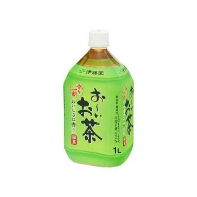 伊藤園 おーいお茶 緑茶 ペット 1L x12 s 【4901085024508】【4901085024508】