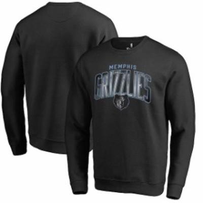 Fanatics Branded ファナティクス ブランド スポーツ用品  Fanatics Branded Memphis Grizzlies Black Arch Smoke Pull