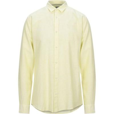 オンリーアンドサンズ ONLY & SONS メンズ シャツ トップス Patterned Shirt Yellow