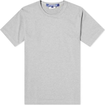 ジュンヤ ワタナベ Junya Watanabe MAN メンズ Tシャツ ロゴTシャツ トップス MAN Back Logo Tee Grey