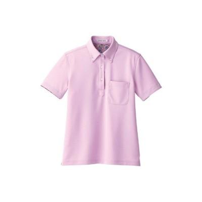 ボンマックス レディス吸水速乾ポロシャツ(花柄B) ラベンダー LL FB4019L(直送品)