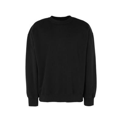 TOPMAN スウェットシャツ ブラック S コットン 70% / ポリエステル 30% スウェットシャツ