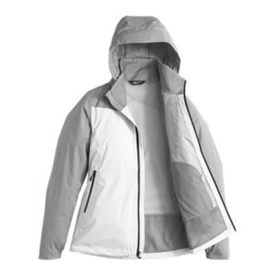 ノースフェイス レディース ジャケット&ブルゾン アウター Resolve Plus Jacket TNF White/Mid Grey Dobby