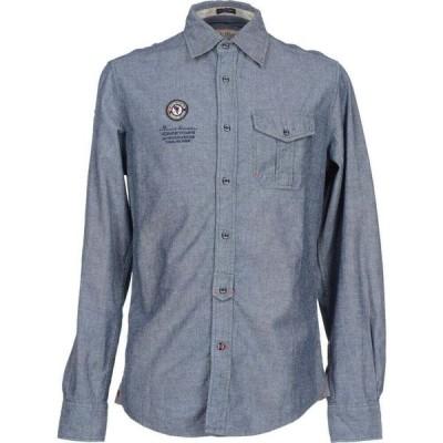 ケープホーン CAPE HORN メンズ シャツ トップス Checked Shirt Blue