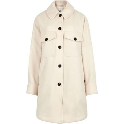 ウールリッチ Woolrich レディース ジャケット アウター chamois off-white wool-blend jacket White