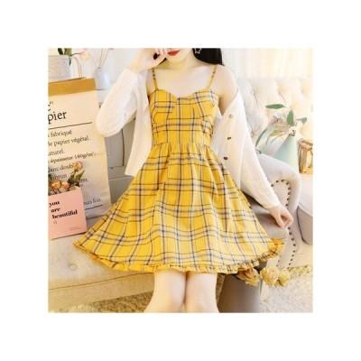 チェック 3色展開 パーティードレス フレアスカート ひざ丈 レディース ワンピース お呼ばれドレス kh-0733