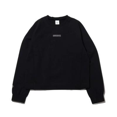 デサント DESCENTE スウェット レディススウェットシャツ (BLACK) 20SS-S
