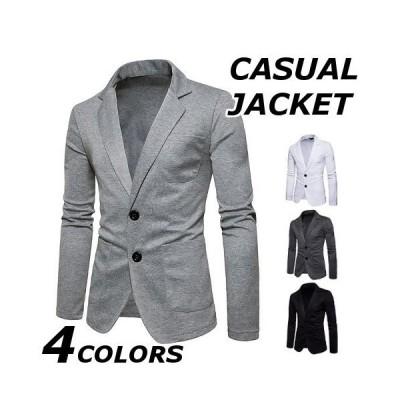 テーラードジャケット メンズ おしゃれ ブランド 無地 柄 黒 ジャケット アウター 大きいサイズ 40代 50代