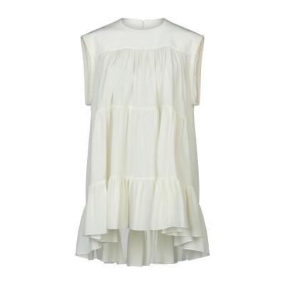 クロエ CHLOÉ ミニワンピース&ドレス アイボリー 36 シルク 100% ミニワンピース&ドレス