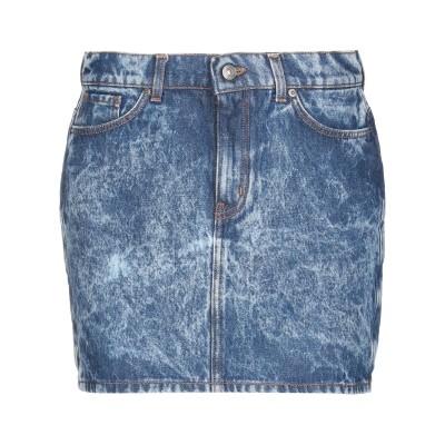 GAëLLE Paris デニムスカート ブルー 27 コットン 100% デニムスカート