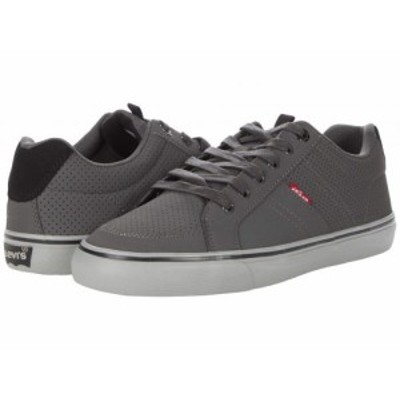 Levis(R) Shoes リーバイス メンズ 男性用 シューズ 靴 スニーカー 運動靴 Turner Perforated Casual Charcoal/Black【送料無料】