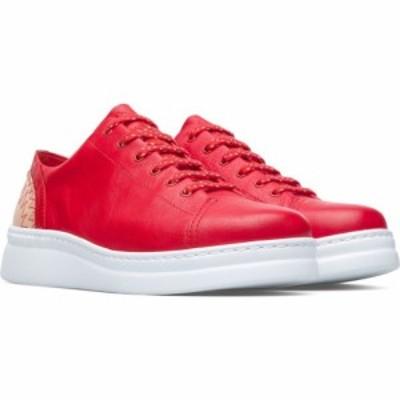 カンペール CAMPER レディース スニーカー ウェッジソール シューズ・靴 Twins Mismatched Wedge Sneaker Red