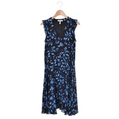 rebecca taylor Kyoto Flora シルク ドレス ワンピース 0 ブラック レベッカテイラー