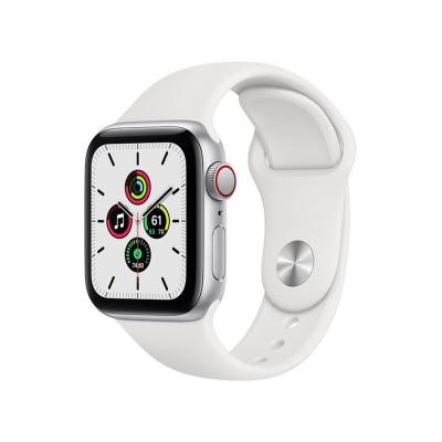 Apple Watch SE GPS+Cellularモデル 40mm MYEF2J/A [ホワイトスポーツバンド]