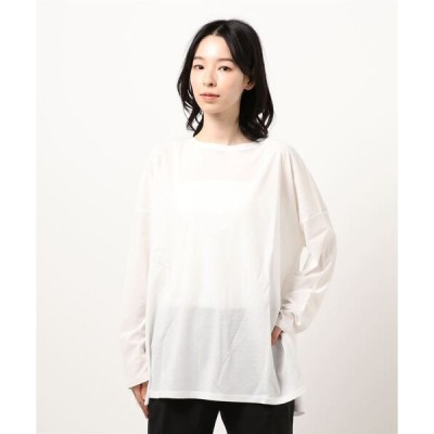tシャツ Tシャツ 【WEB・一部店舗限定】シアーロングTシャツ