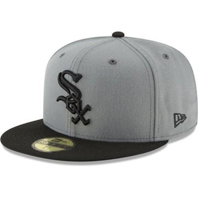 ニューエラ メンズ 帽子 アクセサリー Chicago White Sox New Era Two-Tone 59FIFTY Fitted Hat