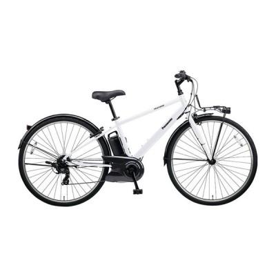 PANASONIC BE-ELVS772-F クリスタルホワイト ベロスター [電動アシスト自転車(700C・外装7段変速)] 電動自転車