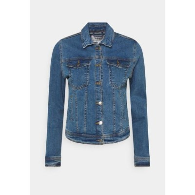 レディース ファッション BYPULLY JACKET - Denim jacket - mid blue denim