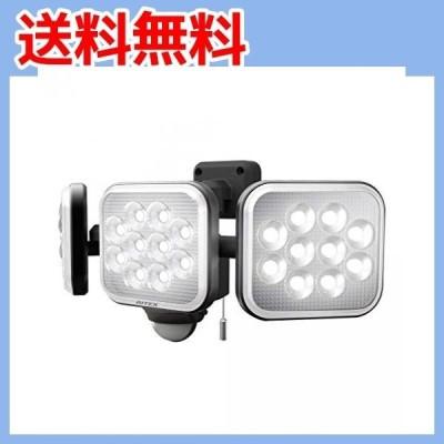 ムサシ(MUSASHI) センサーライト ブラック 本体サイズ: 幅 32.2 × 奥行 15 ×高さ 13.5 cm ・・・