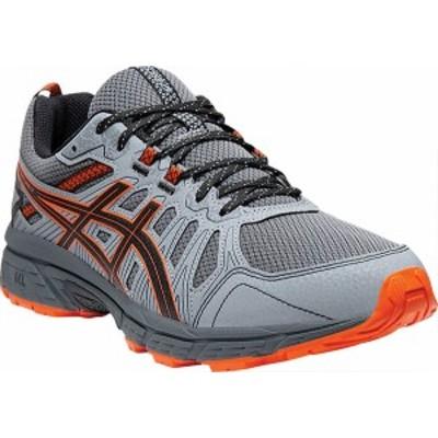 アシックス メンズ スニーカー シューズ GEL-Venture 7 Trail Running Shoe Carrier Grey/Habanero