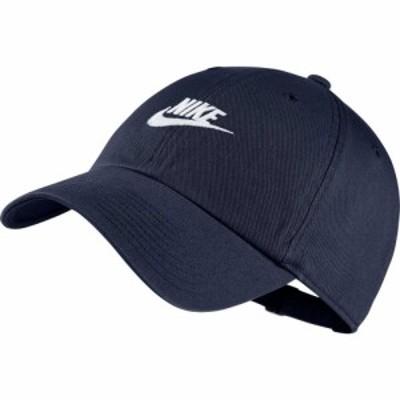 ナイキ Nike ユニセックス キャップ 帽子 Sportswear H86 Cotton Twill Adjustable Hat Obsidian/Obsidian/White