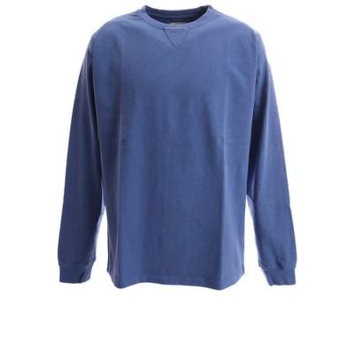 Tシャツ メンズ 長袖 PIGMENT SV-20SSAP002-NVY