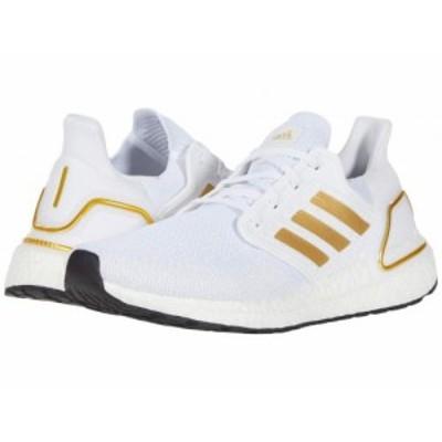adidas Running アディダス メンズ 男性用 シューズ 靴 スニーカー 運動靴 Ultraboost 20 Footwear White/Gold【送料無料】